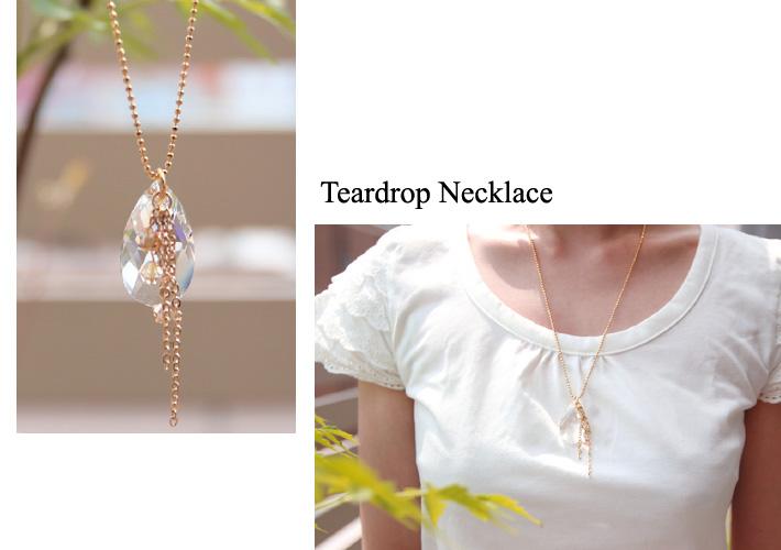 4ebc17579 Rec155 Teardrop Necklace / NIPPON CHUKO ONLINE